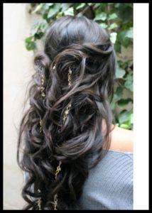 45cm dark brown clip-ins with melissa @cmartecreativo
