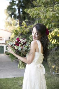 Anatorres model for a bridal shoot