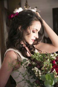 Anatorres model for a bridal shoot