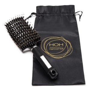 Haarbürste schwarz zum haare entwirren