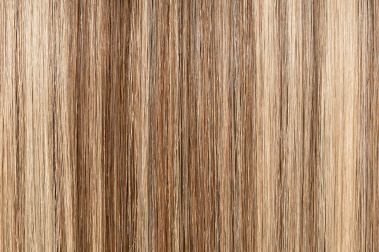 Remy 100% natural hair extension color Warm Ash Blond