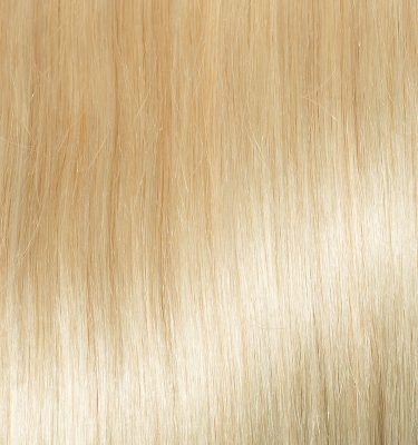 Remy Hair extension color Bleach Blond