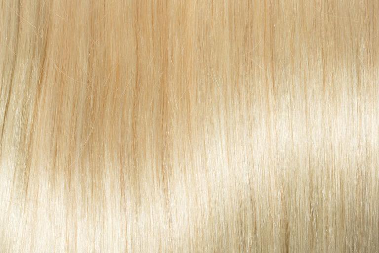 Remy Hair extension color Bleach Blond