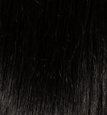 Remy 100% human hair extension color Natural Super Black