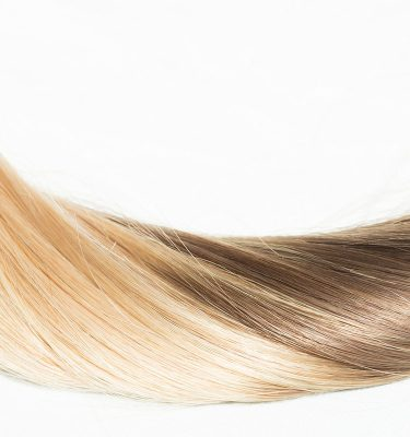 Remy 100% human hair extension color Ombre
