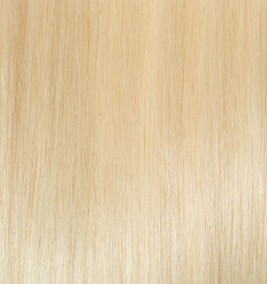 Remy 100% Human Hair Extension Color Platinum Blonde