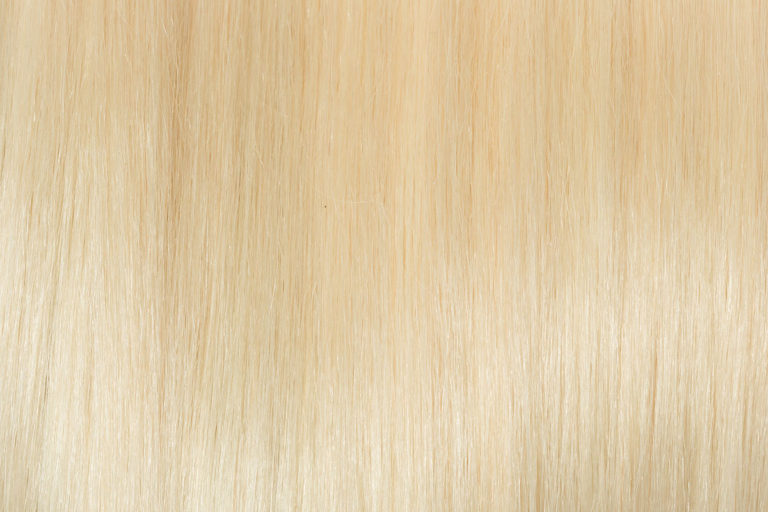 Remy 100% Human Hair Extension Color Platinum Blonde