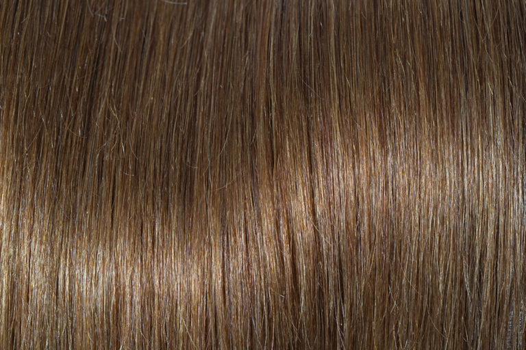 Remy 100% human hair extension color Toffee