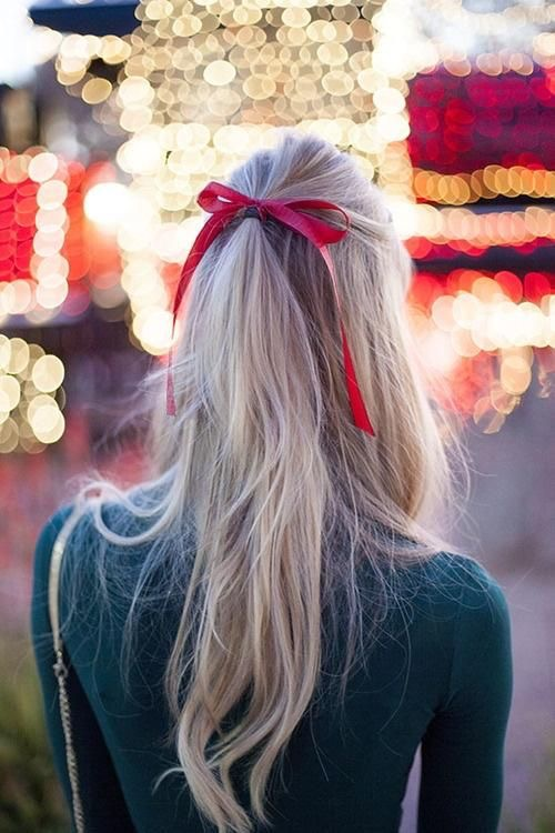 """The""Holiyday Hair Trend for the Festive Season with clipin hair-extension"
